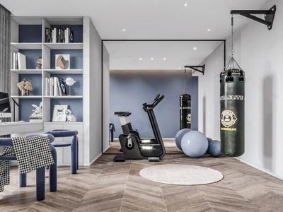 现代简约健身房