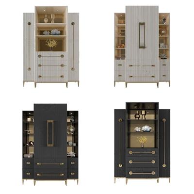 法式裝飾柜 法式裝飾架 儲物柜 擺件