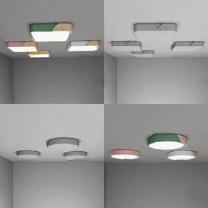 現代時尚吸頂燈3d模型