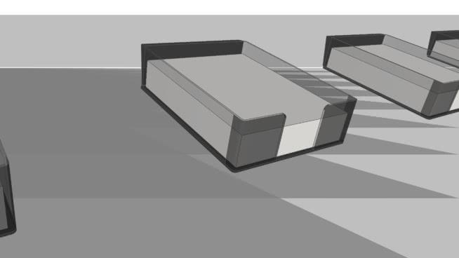 塑料纸盒、壁挂架 其他 盒子 桌子 显示器 沙发