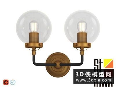 现代金属壁灯