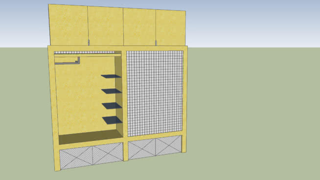 NBA衣帽间项目 信封 柜子 活页簿 衣柜 纸盒箱