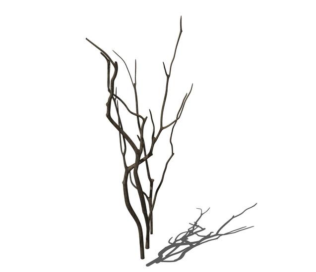 干树枝摆件S模型