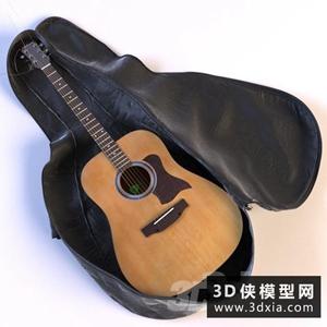 吉他模型下载