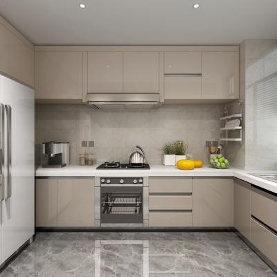 現代廚房櫥柜3D模型