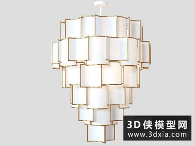 现代中式吊灯
