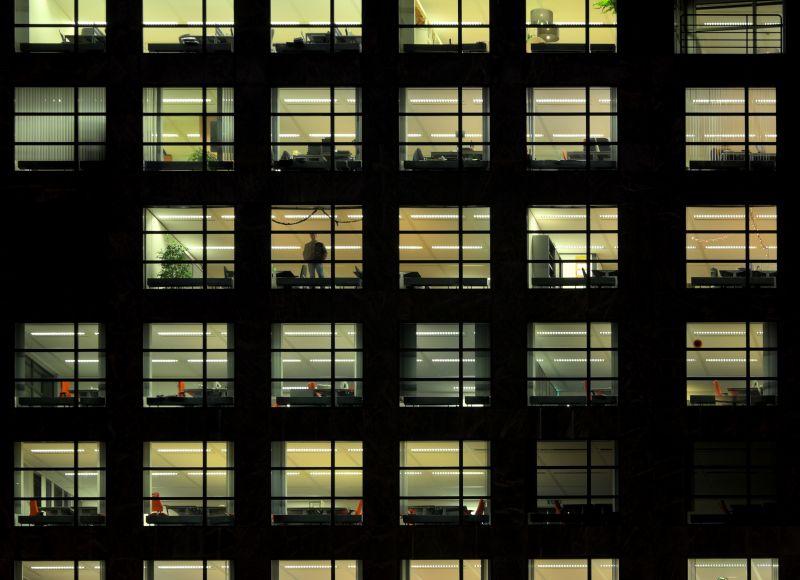 外景-夜晚窗户 78