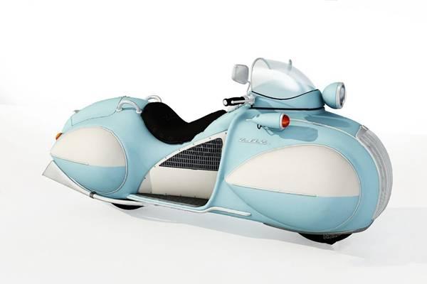 现代摩托车3D模型