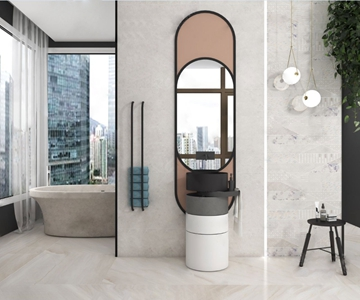 現代衛浴 現代臺盆 臺盆 浴缸 吊燈 角幾 洗漱用品