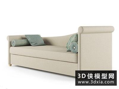 现代欧式贵妃沙发