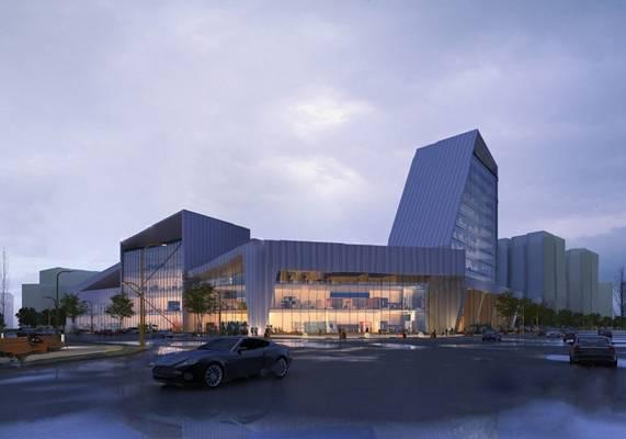 建筑3D模型