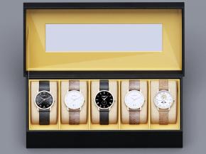 现代手表手表盒3D模型