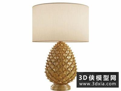 现代菠萝台灯