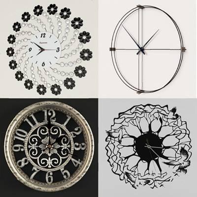 现代时钟3D模型