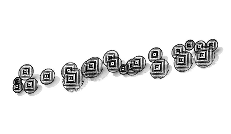 圆形墙饰SU模型