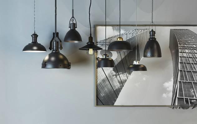 工业吊灯3D模型