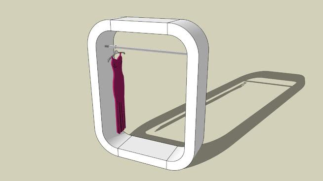 cloakroom /衣柜 箱包 镜子 手机 搭扣 包
