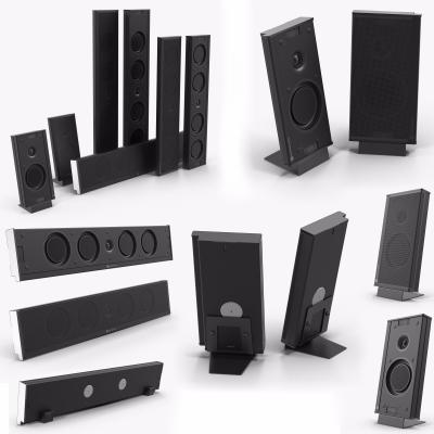 现代音响设备3D模型