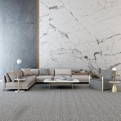 现代转角沙发茶几边几摆件组合3D模型