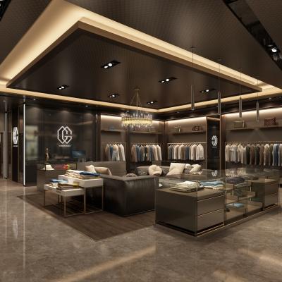 现代品牌服装店