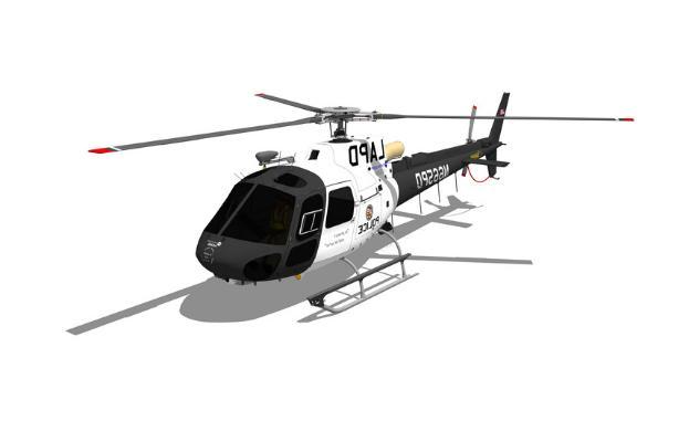 直升机SU模型