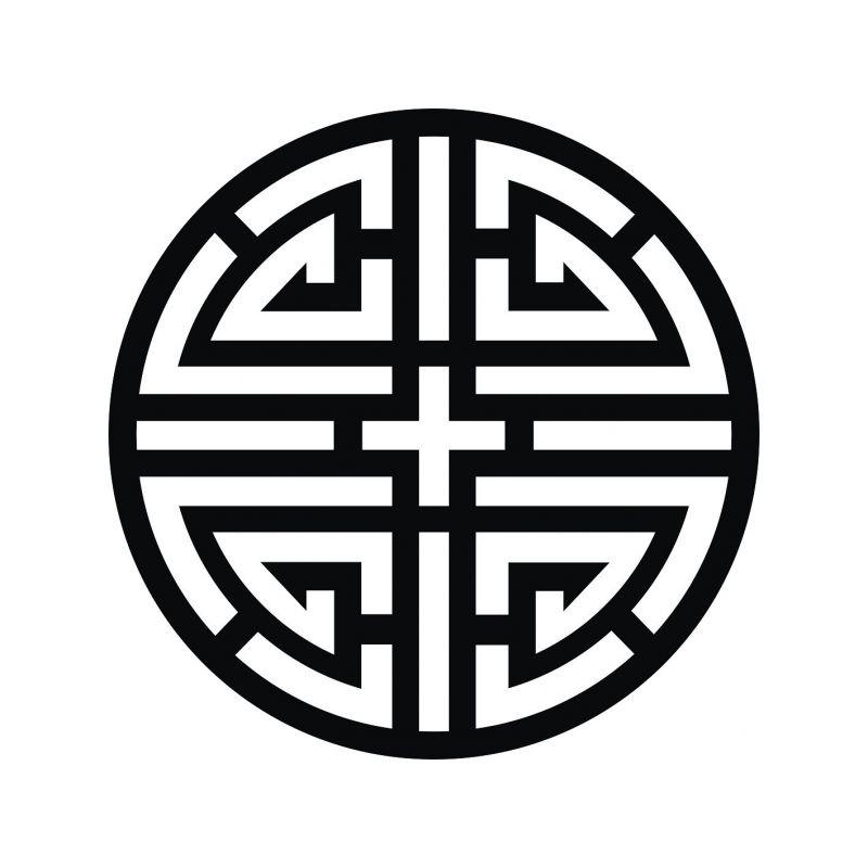 凹凸黑白-黑白古典 440