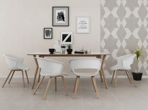北欧餐桌椅挂画摆件组合3D模型