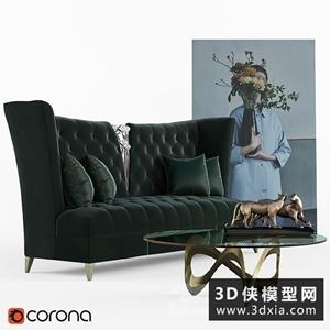 欧式沙发组合
