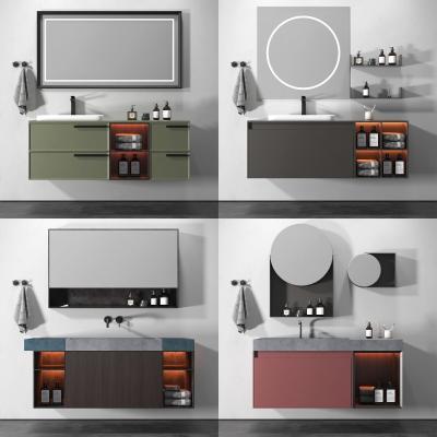 现代浴室柜