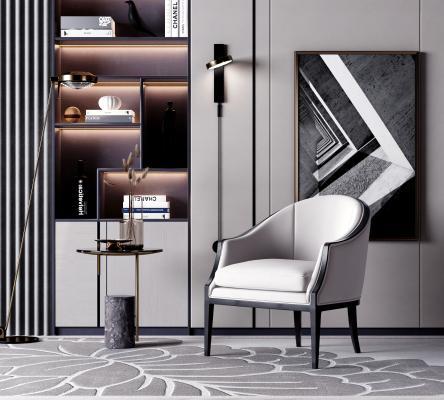 现代简约椅子 台灯 壁灯