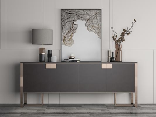现代装饰柜电视柜餐边柜