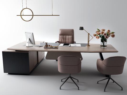 现代大班台 办公桌