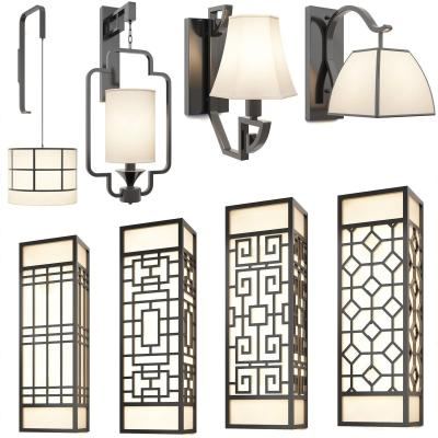 新中式壁燈