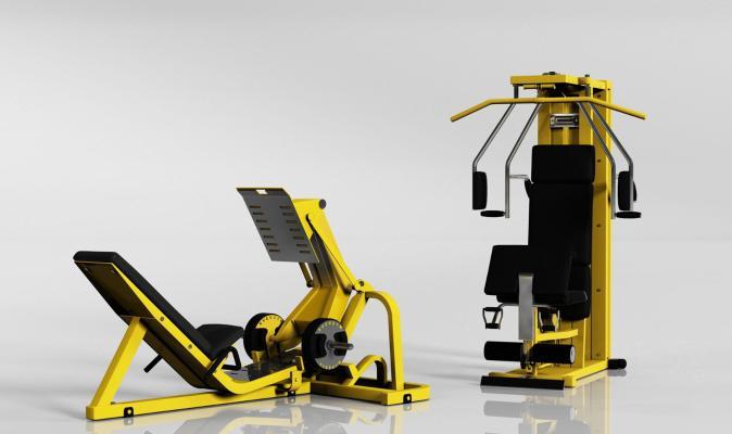 现代健身器材