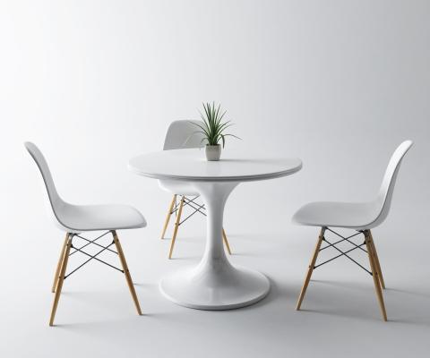 现代圆桌 休闲桌