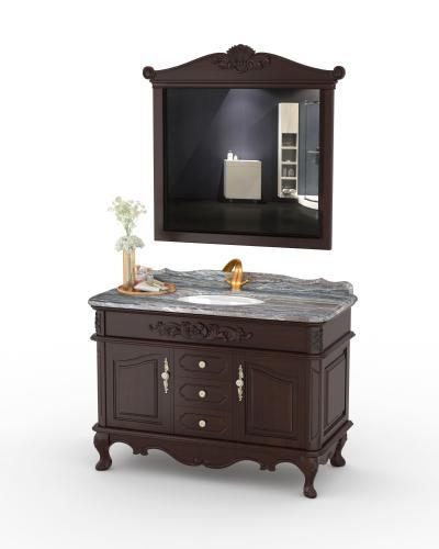 美式浴室柜 洗手台