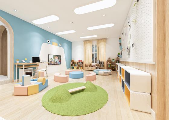 現代學校幼兒園 感統室
