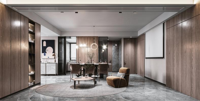 现代餐厅茶室