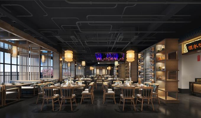 工业风餐厅 湘菜馆