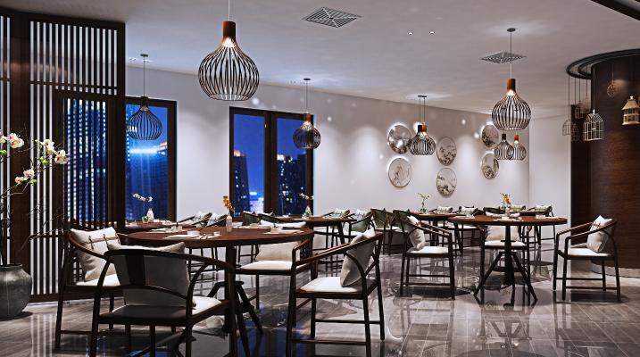 新中式餐廳 大廳