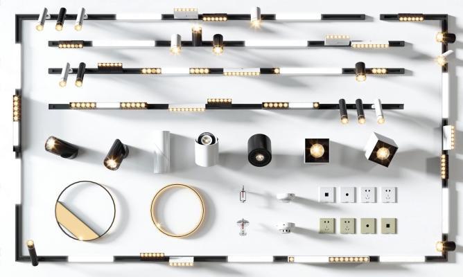 現代軌道燈