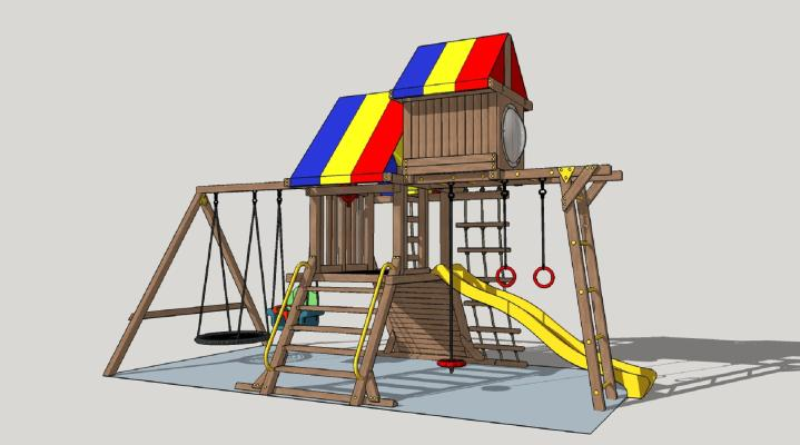 现代儿童娱乐设施
