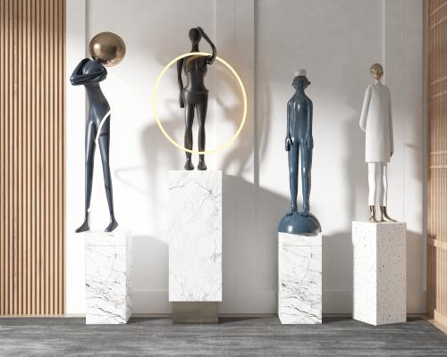 现代风格人物雕塑