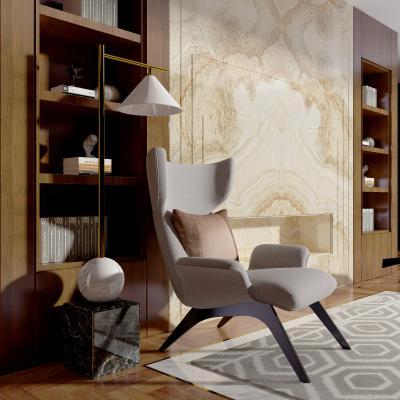 现代风格休闲椅 落地灯