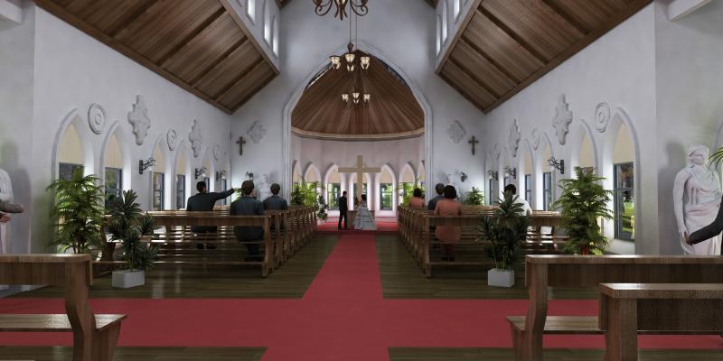 简欧教堂 婚礼