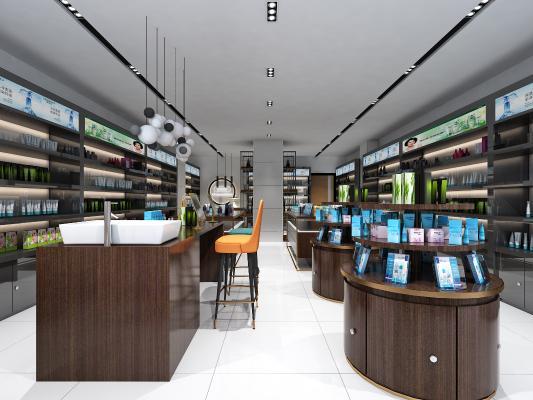 現代化妝品專賣店 美妝店展柜 貨柜