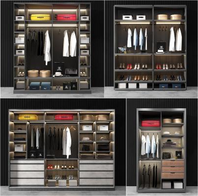 现代轻奢衣柜