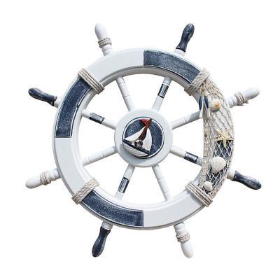 地中海舵手墙饰挂件