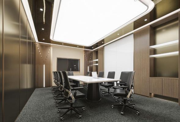 现代轻奢会议室
