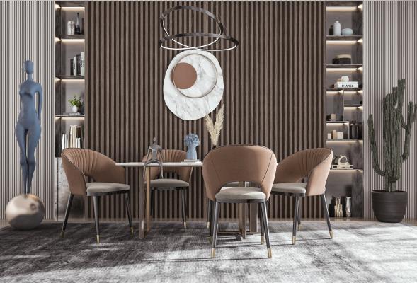 �F代餐�d 餐桌椅 吊��
